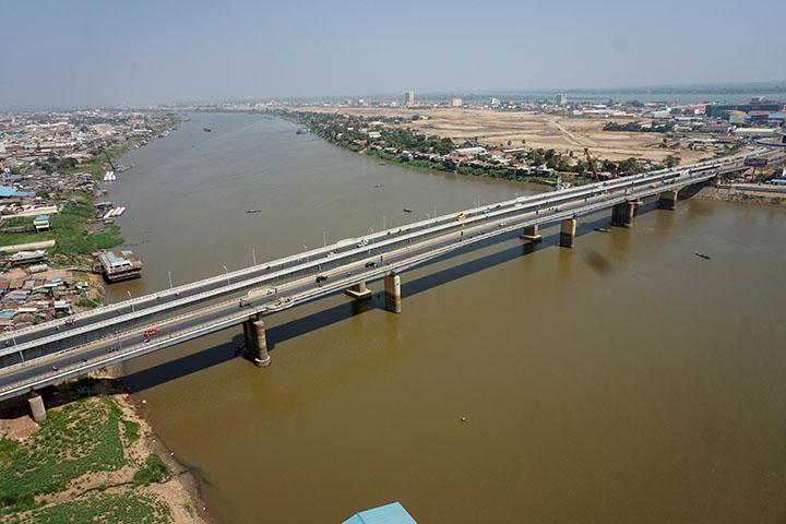 チュルイ・チョンバー橋(ODA)カンボジア