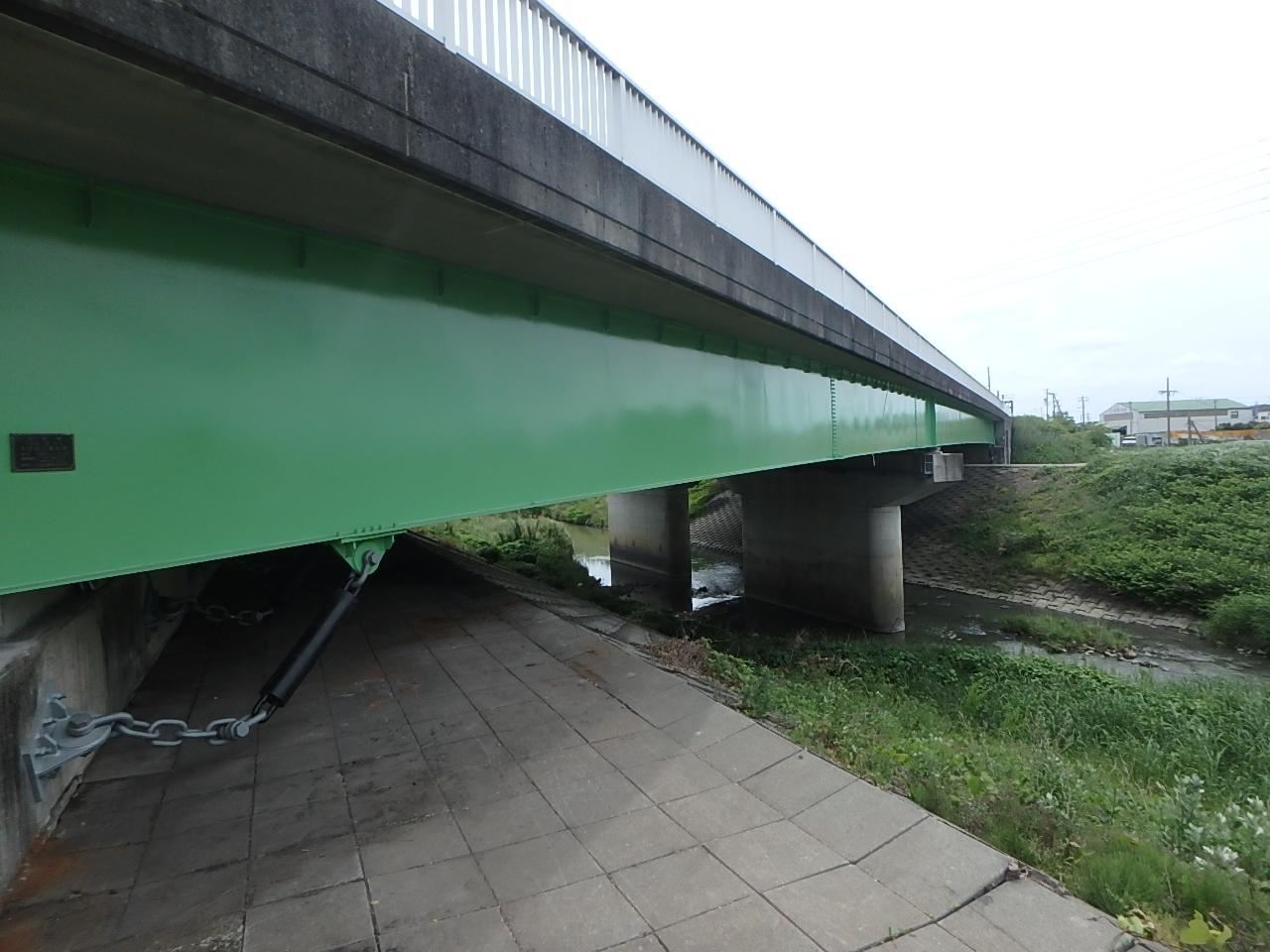 国道1号三池橋(静岡県)