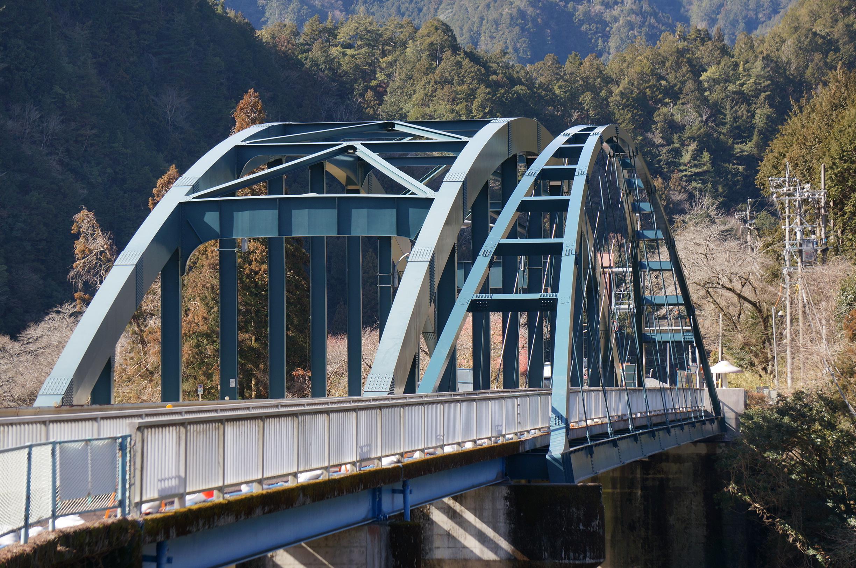 国道41号七曲橋(岐阜県)