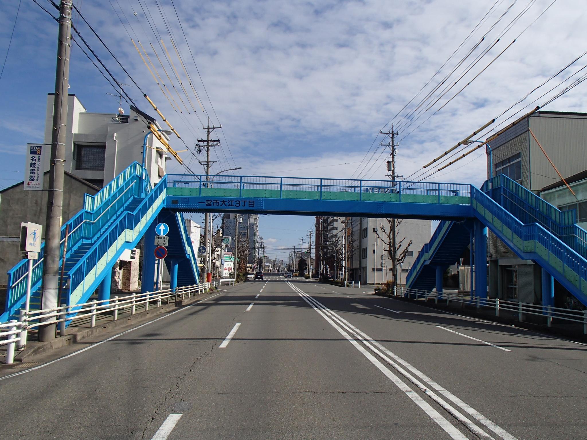 大志横断歩道橋(愛知県)