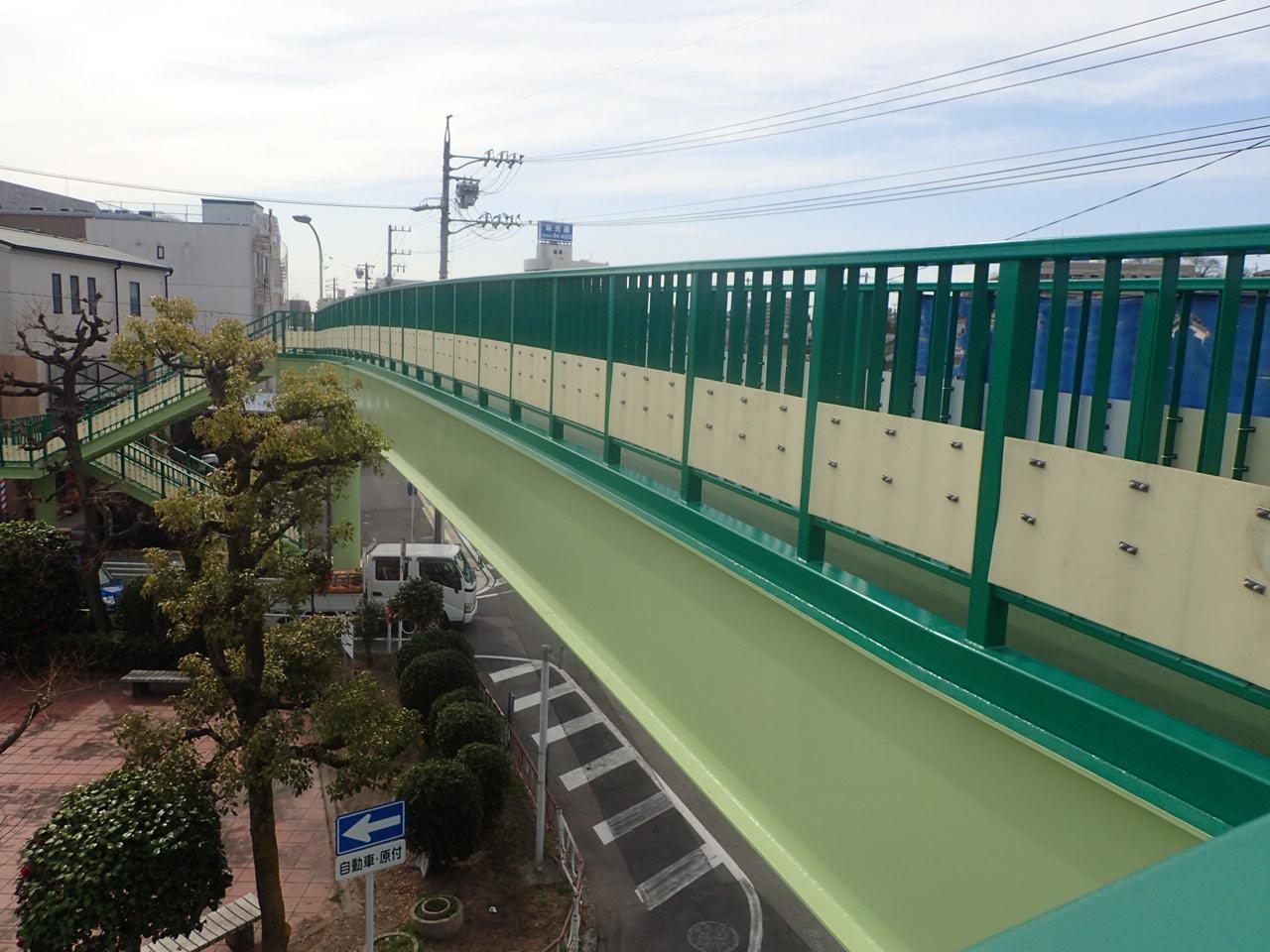 末広横断歩道橋(愛知県)