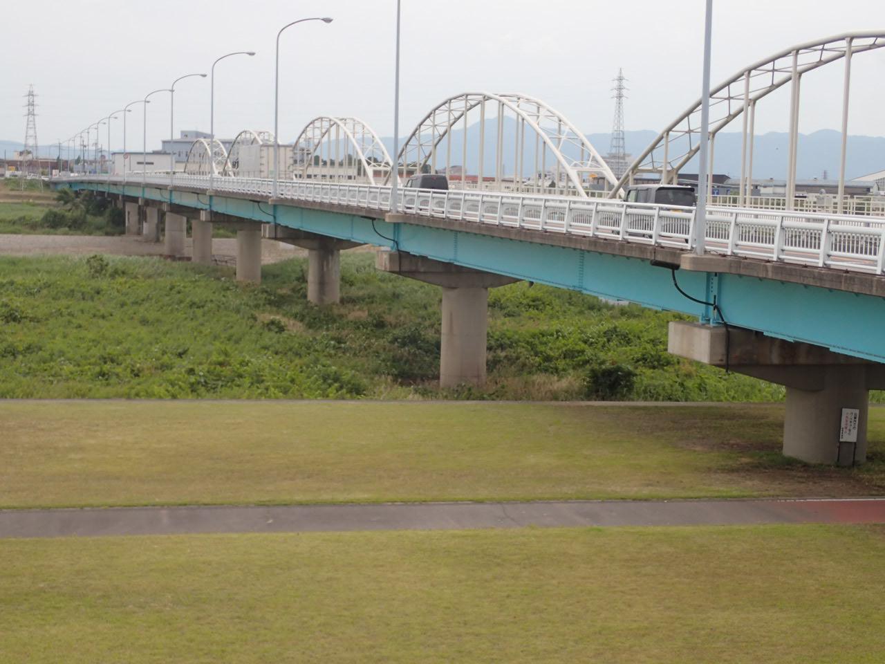 野洲川橋(滋賀県)