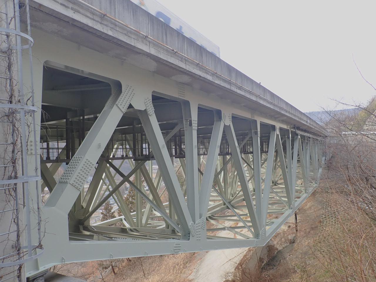 長野自動車道落水橋(長野県)
